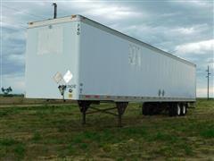 1998 Utility VS2DC 53'X102 T/A Van Trailer
