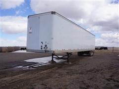 """2003 Lufkin 53' X 102"""" T/A Dry Van Trailer"""