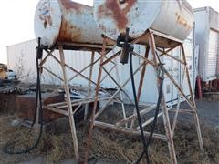 300 Gallon Fuel Tanks w/Stands