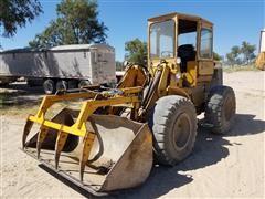John Deere 544 Wheel Loader W/Grapple