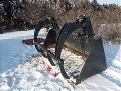 Jenkins Skid Steer Grapple Bucket