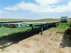 1992 Fontaine FTW-5-8048 WSA 48' T/A Flatbed Trailer