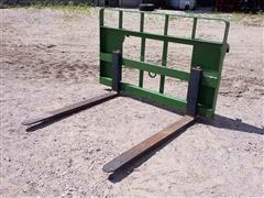 2014 MDS JD H-480 Rail Pallet Forks