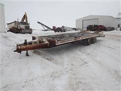 1992 Trail-Eze BH Flatbed Trailer