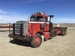 1978 Autocar DC9364F T/A Oilfield 'Rig-Up' Extended Truck Tractor