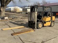 Yale GLP08OLFNSBV088 LPG Industrial Forklift