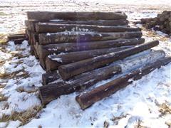 Wood 8' Corner Posts