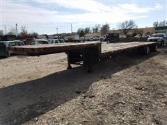 1996 Talbert T/A Drop Deck Trailer