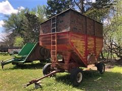Lundell 1290 Gravity Wagon W/Tall Sides