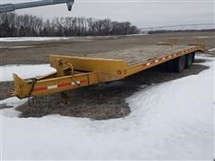 1999 Redi Haul 20' 4 Wheel Flatbed T/A Equipment Trailer