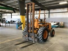 1973 Case IH 585 Construction King Rough Terrain Forklift