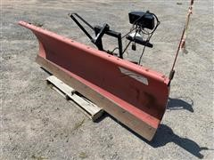 Western Ultra Finish 8' Pickup Mounted Steel Snow Plow