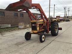 Minneapolis Moline M670 2WD Tractor W/Loader