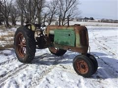 1937 Oliver 70 2WD Tractor