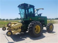 1988 John Deere 5830 Forage Harvester With Pickup Header
