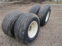 BKT Farm Implement 12.5L-15SL 12Ply Tires & Rims