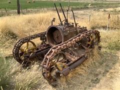 1928 Caterpillar 30 Crawler Tractor