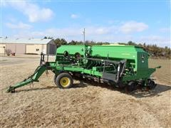 John Deere 1560 No-Till Grain Drill w/Liquid Fertilizer Pump & Tank
