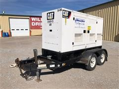 2009 Caterpillar XQ60-4 60KW Portable Generator