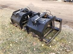 "Brute 70"" Brush Grapple Skid Steer Attachment"