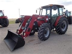 2011 Case IH 105U Tractor With Loader