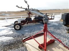 Rainbird Stationary Volume Sprinkler, Skid Stand