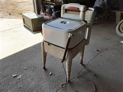Maytag Antique Electric Washing Machine