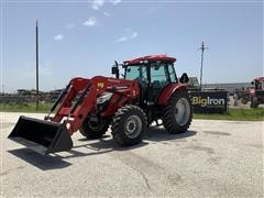 2018 Mahindra 9110S 4WD Compact Utility Tractor W/Loader