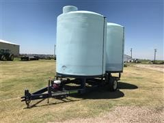 Schaben P-316-DCBT Portable Storage Tanks On Trailer