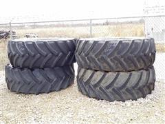2015 Mitas 650/65R38 Flotation Tires & Rims