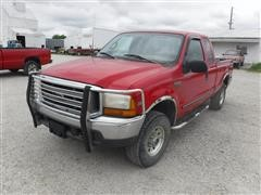 1999 Ford F250 Super Duty 4x4 Extended Cab Pickup