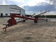 "Peck 1004-71 10"" X 71' Auger W/Swing-Out Hopper"