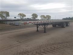 1999 Wilson CF-900 T/A Flatbed Trailer