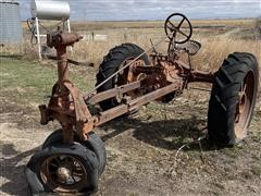 1937 Farmall F-20 2WD Tractor (INOPERABLE - For Parts Only)