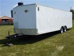 2010 Carry-On 8.5x24 CGRCM T/A Enclosed Trailer