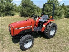Massey Ferguson 1233 Compact Utility Tractor
