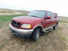 2000 Ford F150XLT 4x4 Extended Cab Pickup