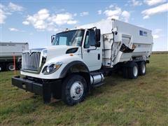 2013 International 7400 T/A Feed Truck