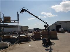 Miller CP-200 Wire Welder W/Boom Mounting Wire Feeder