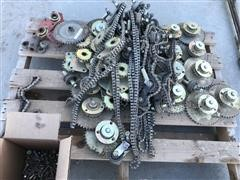 Drive Shaft Sprockets And Chains