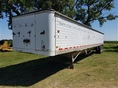 1978 Timpte T3W3TH T/A Aluminum Grain Trailer