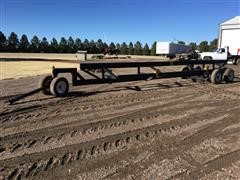 Homemade Header Trailer