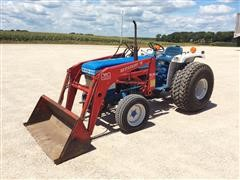 1984 Ford 1910 Compact Utility Tractor & Westendorf Loader
