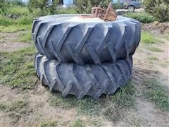 BF Goodrich Power Grip 20.8-38 Tires & Hubs