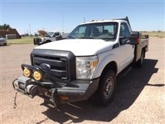 2014 Ford F350 4x4 Service Pickup W/Front Winch