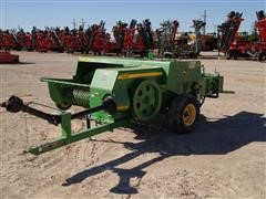 2010 John Deere 348 Wire Tie Small Square Baler