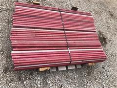 "1 1/4"" X 5' Long High Tensile Electric Fiberglass Fence Posts"