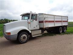 1991 International 9400 T/A Grain Truck W/20' Steel Box