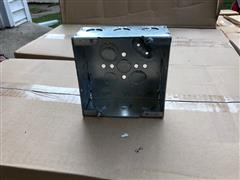 """Cooper Crouse- Hinds 4-11/16"""" Square Outlet Box & Covers"""