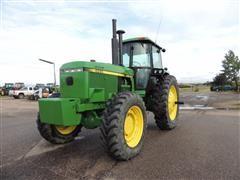 1989 John Deere 4555 MFWD Tractor